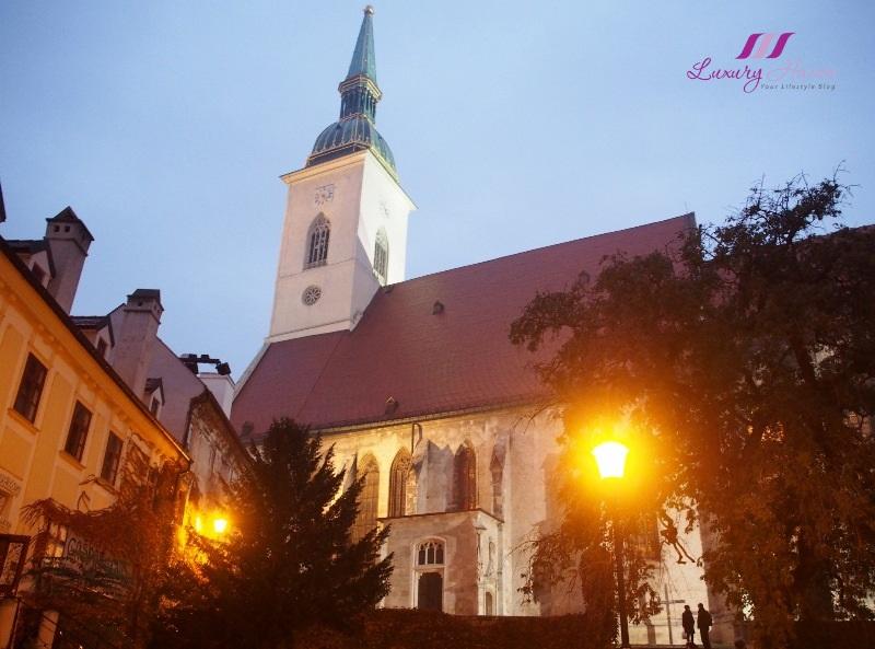 eastern europe slovakia bratislava old town hall
