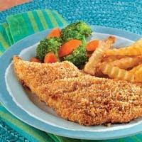 Crispy Oven-Fried Fish Fillets