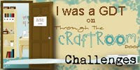 September' 2013: GDT @ Through The Craftroom Challenges