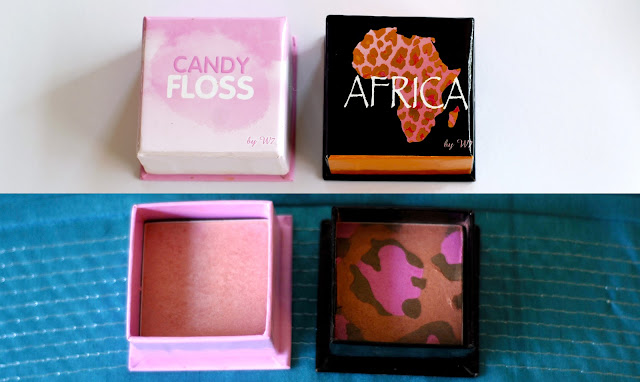 W7 Candy Floss and W7 Africa