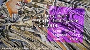 Gallery walk Schleifmühlgasse Jan 2014