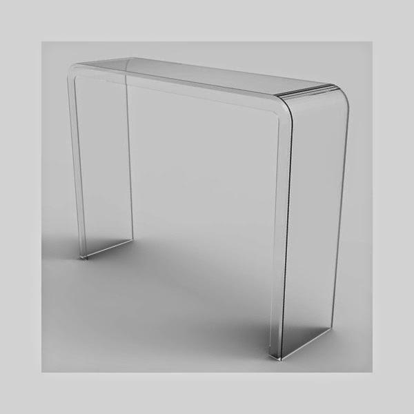 Progettazione e produzione di arredo e complementi d for Consolle plexiglass design