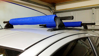 DYI Surfboard Car Rack Pads