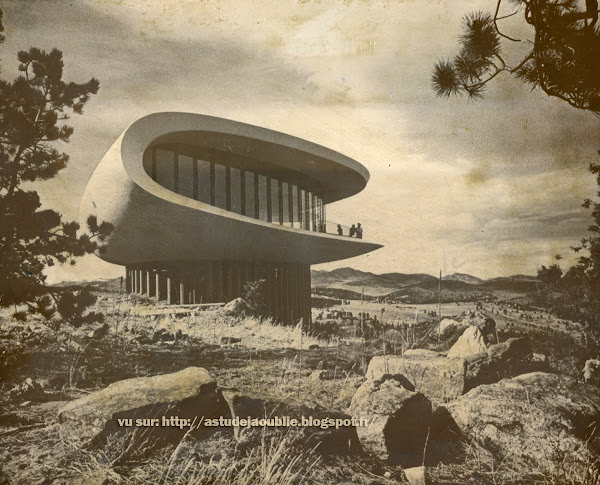 Genesee Mountain - Colorado - USA - Maison sculpture  / Sculptured House  Architecte: Charles Deaton  Construction: 1963