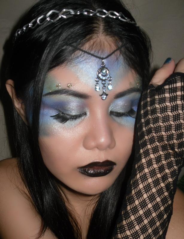 Hisseria.blogspot.com: Halloween makeup:Fairy/Nymph