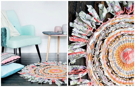 fabric recycled diy idea