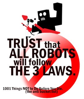the definition history and laws of robotics Robot: industrial definition (ria = robotic institute of america): re- programmable  a short robotics history  history • laws of robotics (i asimov -  1942) 1.