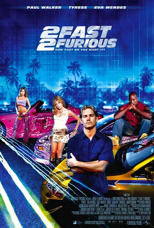 fast and furious movie series 2 fast 2 furious. Black Bedroom Furniture Sets. Home Design Ideas