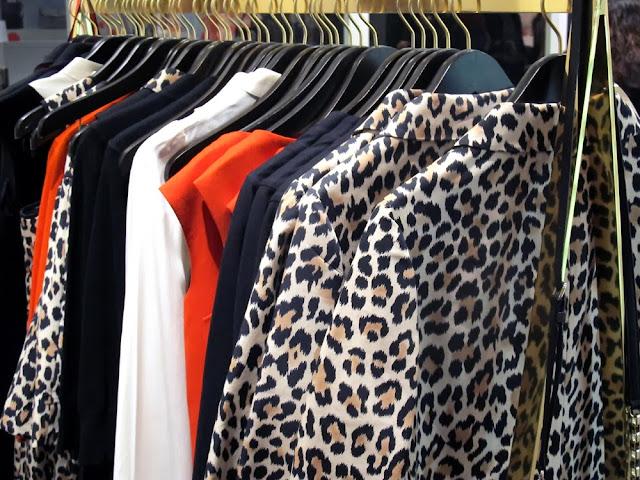 Kate Spade leopard print
