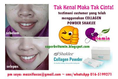 testimoni collagen powder shaklee