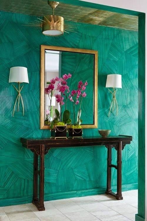 Decoracion Baños Azul Turquesa:Marzua: Color turquesa en decoración