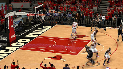 NBA 2K13 United Center Court Playoffs Version