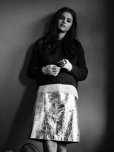 Selena Gomez InStyle magazine January 2016 photo shoot