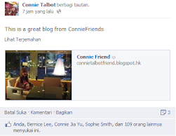 """This is a great blog from ConnieFriends"""