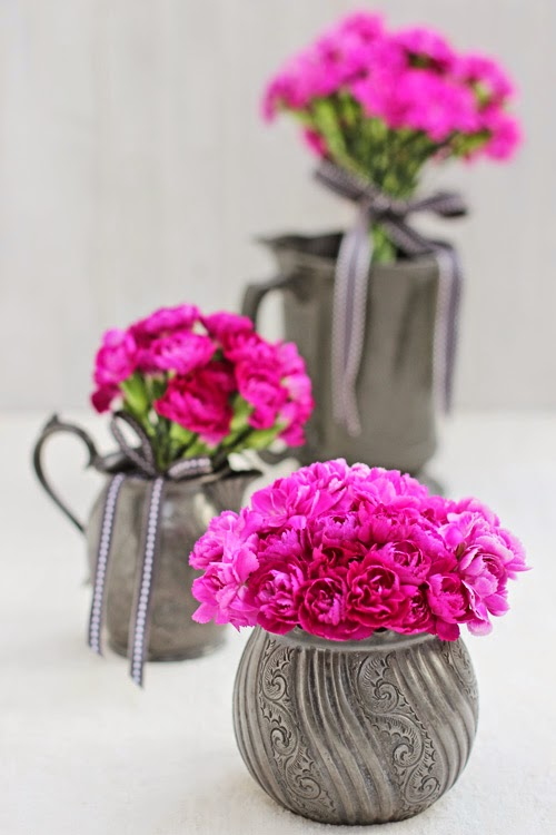 Pink Spray Carnations