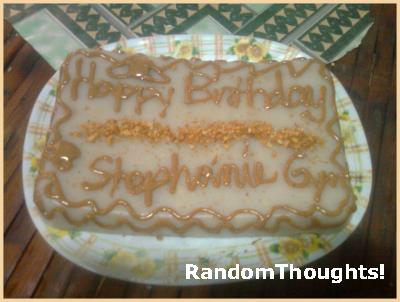Panie Homemade Cake