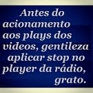 STOP NO PLAYER