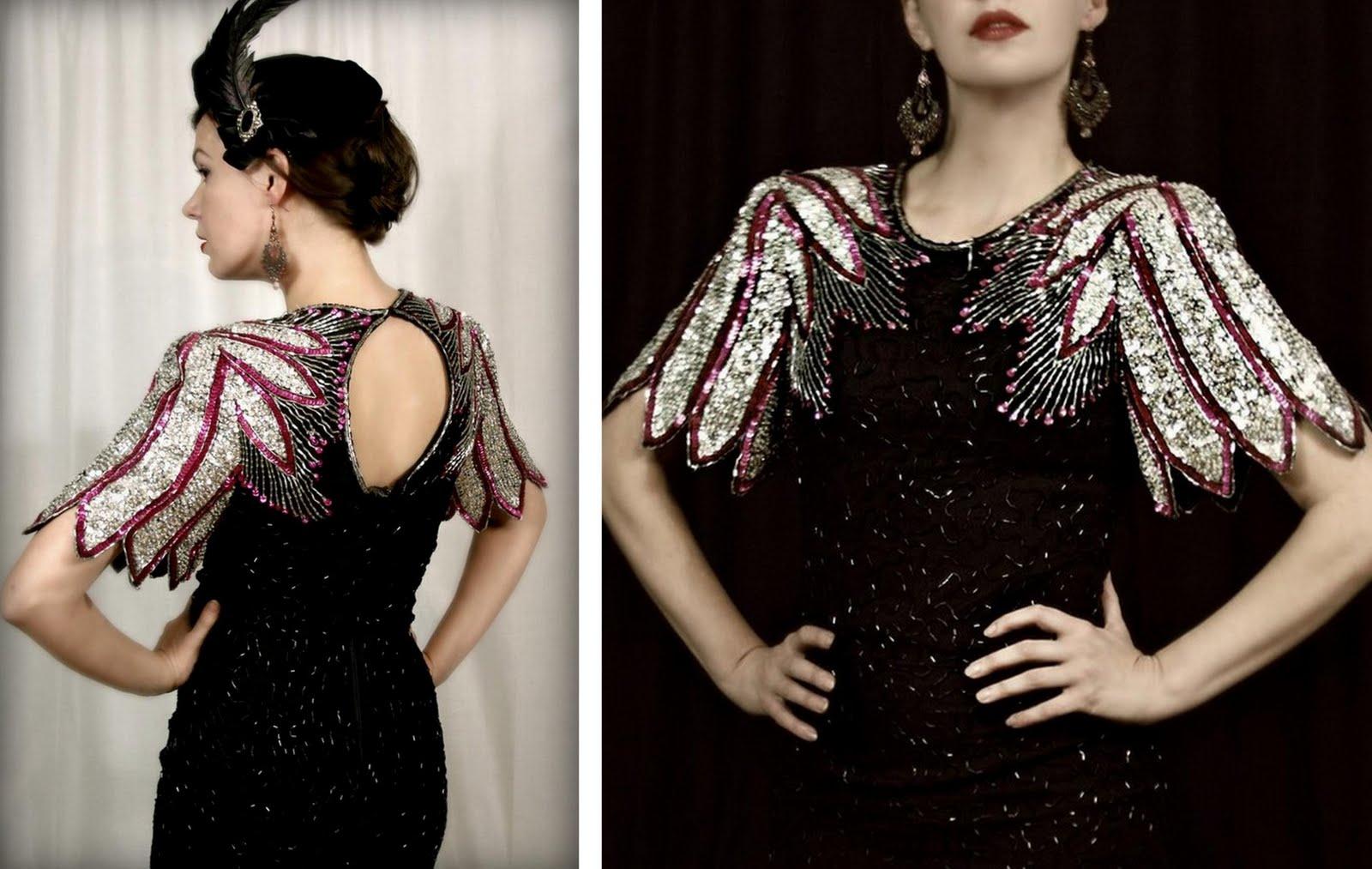 1920s Speakeasy Dress Cocktail dress from fatrabbit1