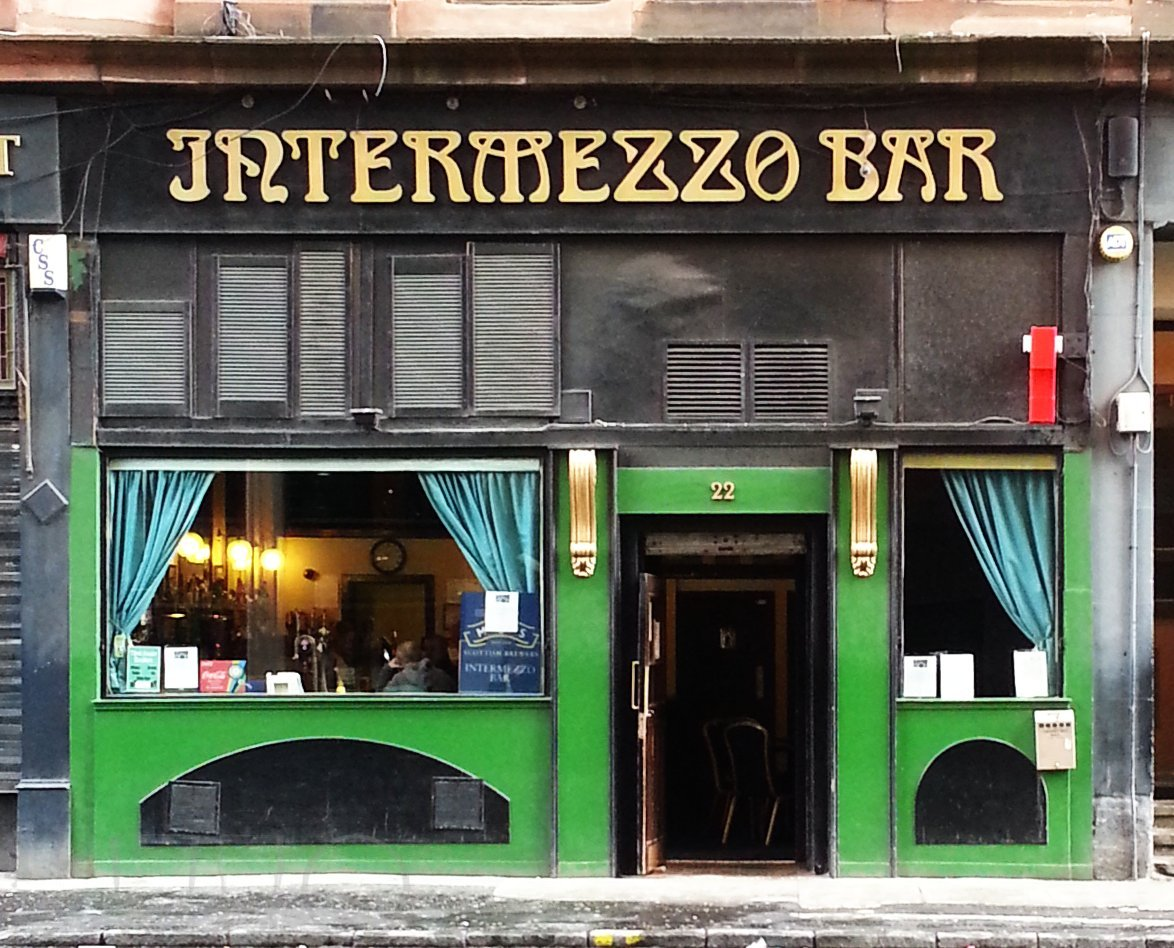 Intermezzo Bar, Glasgow