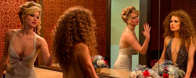 Jennifer Lawrence y Amy Adams en American Hustle