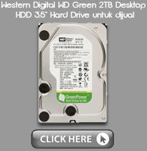"WD HDD 3.5"" Untuk Dijual"