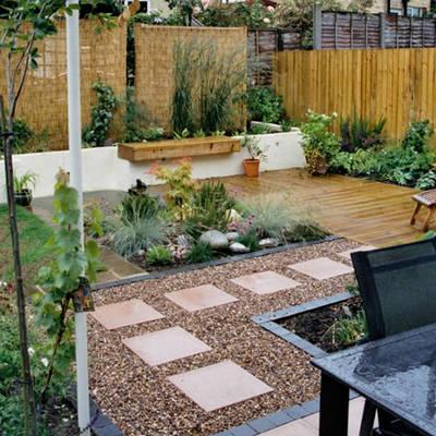 Decora el hogar decora el jard n con piedras for Decorar jardin economico