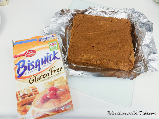 pumpkin cake using gluten free bisquick