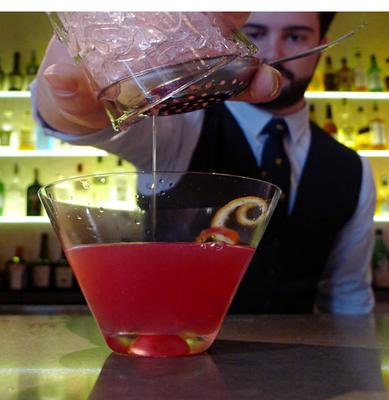 """Manresa: """"Sanguine Valentine"""" Cocktail Recipe"""