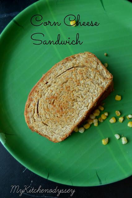 corn cheese sandwich1