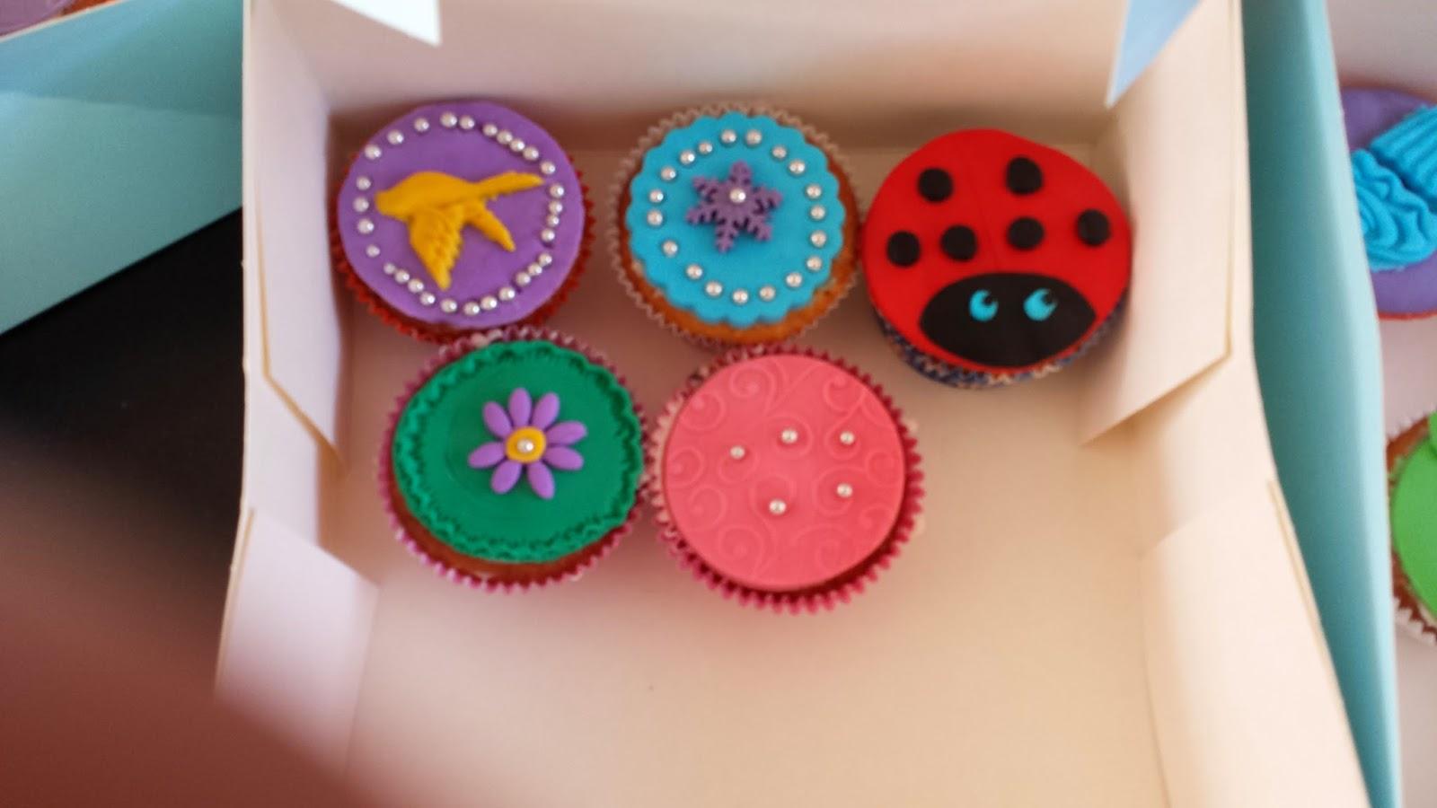 Heerlijke Baksels Kinderfeestje Cupcakes Versieren