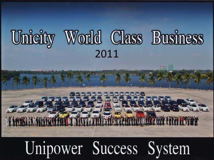 Kejayaan Berjaya di UNICITY
