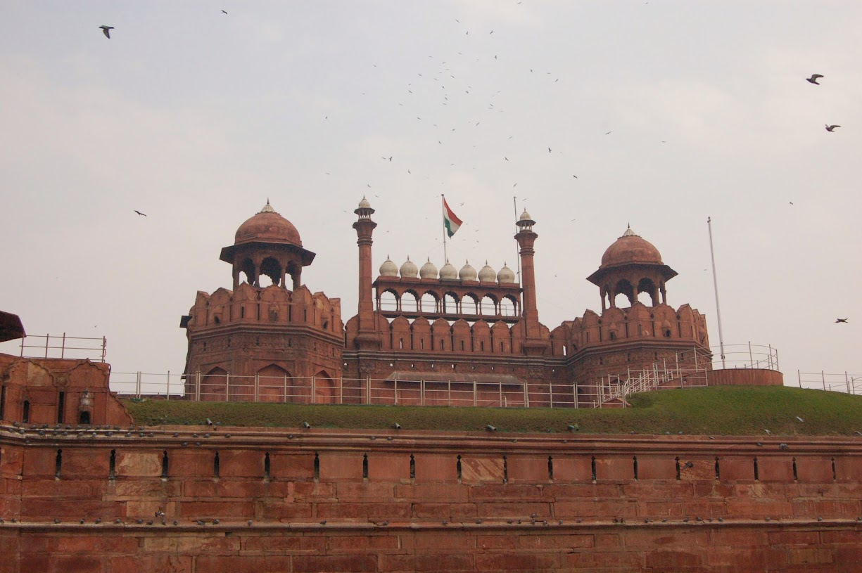The red fort Delhi India