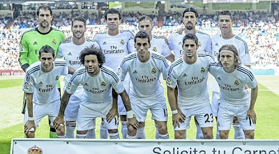 REAL MADRID TEAM PHOTO 2013