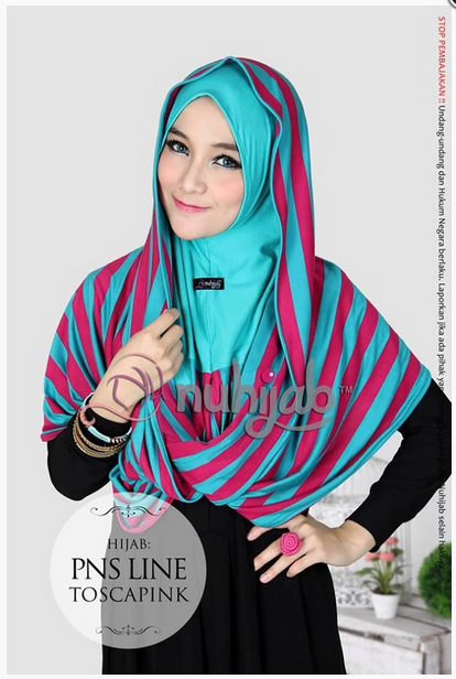 Contoh Model Hijab Modern Praktis Terbaru 2015