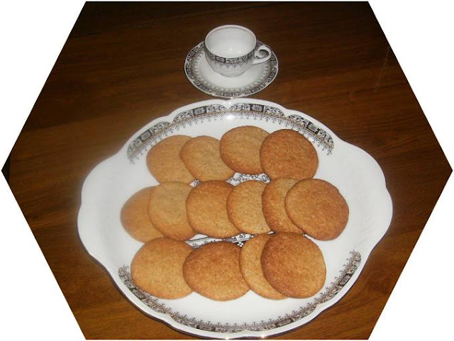 GALLETAS  DE  SALVADO  DE  AVENA