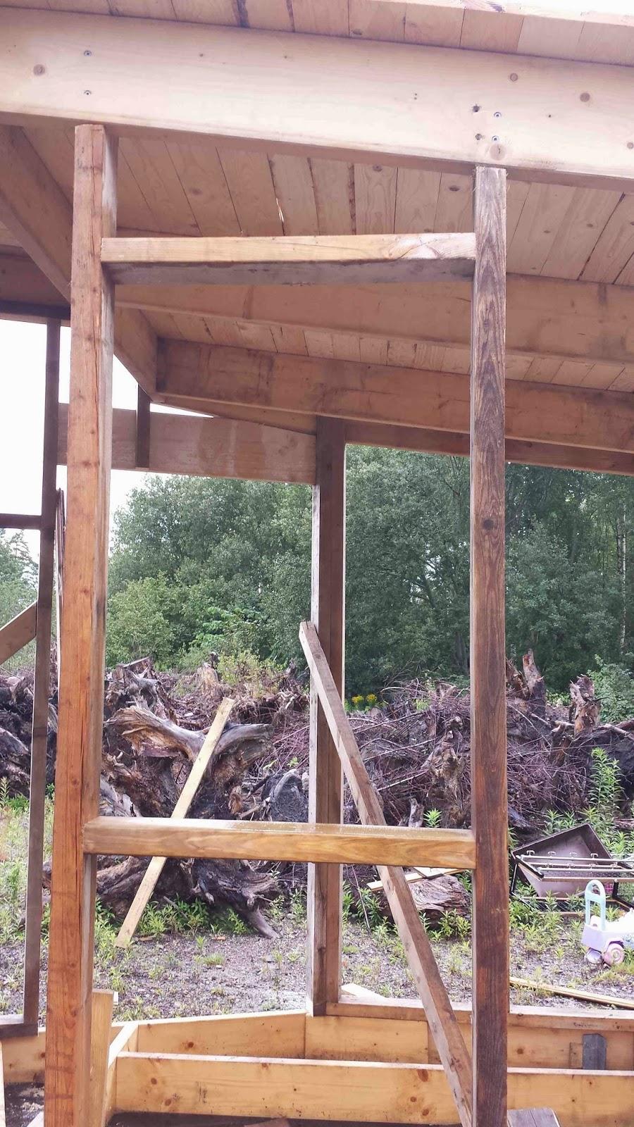 En liten historia om att bygga ett litet hus: September 2014