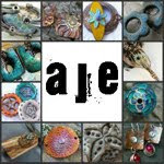 I also blog for Art Jewelry Elements...