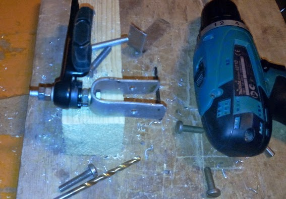 Изготовление крепежа для ручного тормоза
