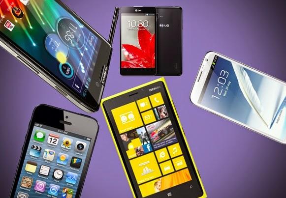 Smartphone mais buscados