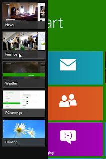 Menutup Aplikasi yang Terbuka pada windows 8