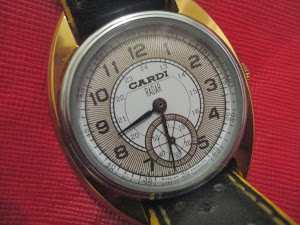 "Russian Watch Pobeda ""Cardi Radar"" Sub second ( Sold )"