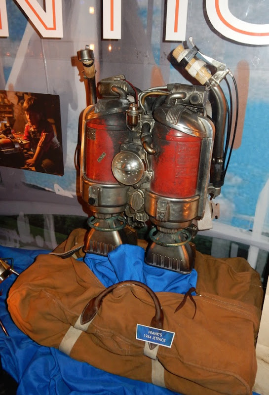 1964 jetpack Tomorrowland film prop