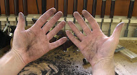 Dirty hands = working hands