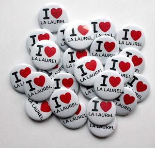 Chapas personalizadas I Love la Laurel de Logroño
