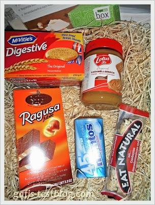 Brandnooz September Box 2013 - Süßigkeiten