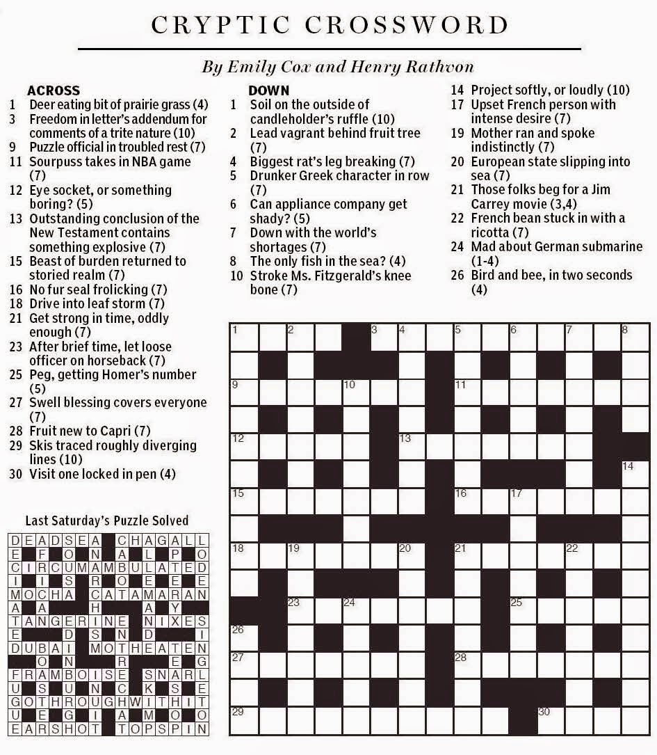 essay byline crossword puzzle clues Pits - crossword clues search through millions of crossword puzzle answers to find crossword clues with the answer pitstype the crossword puzzle answer, not.