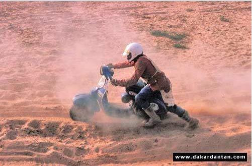 Vespa Paris Dakar 01