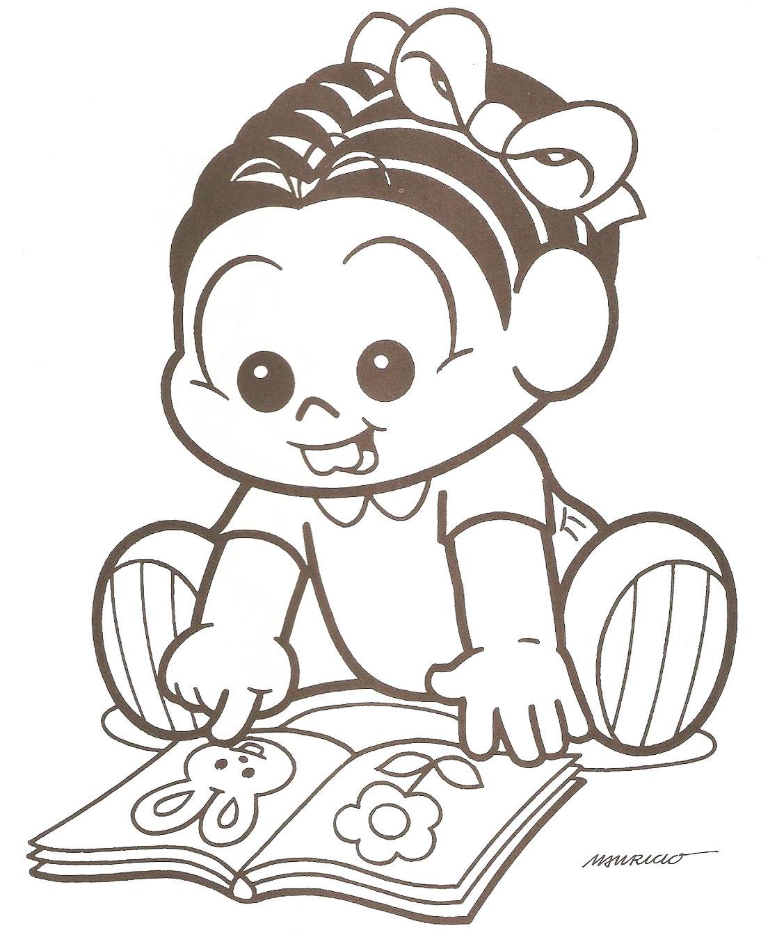 Imagens de toda a Turma da Mônica baby e, especialmente, da Mônica ...