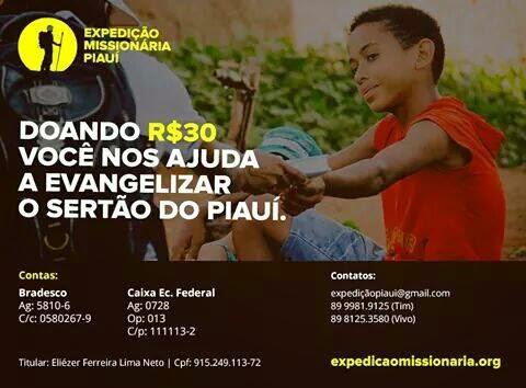 11ª Expedição Missionária Piauí