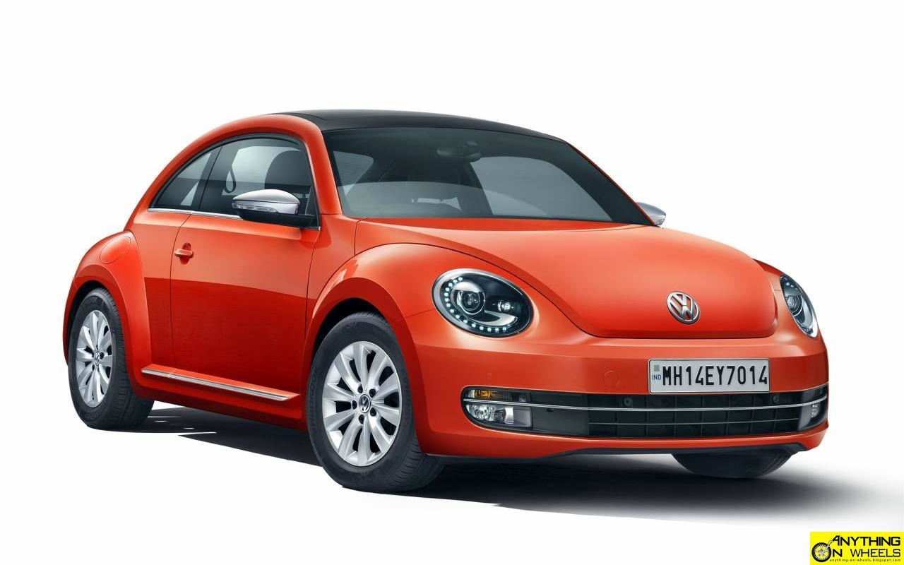 anything on wheels volkswagen launches the new beetle in india